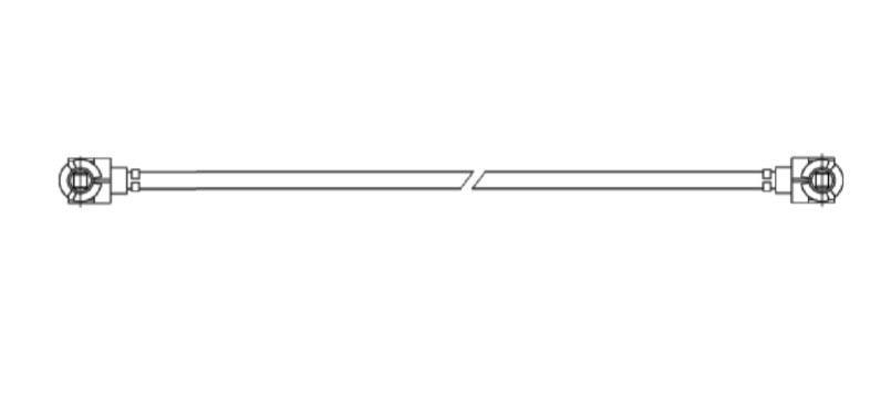 Cable, 20 cm, U.FL to U.FL, 1.32mm Ø
