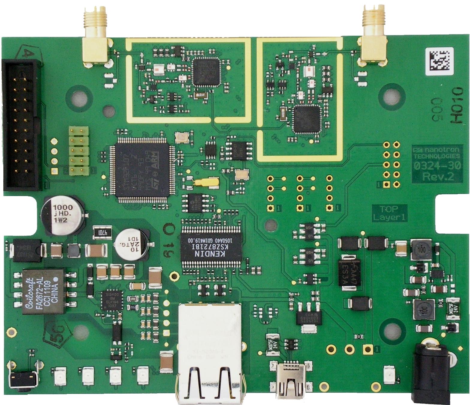 nanoANQ RTLS Anchor Module, PoE